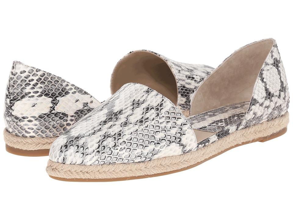 Michael Kors - Corey (Natural Genuine Snake/Jute) Women's Flat Shoes