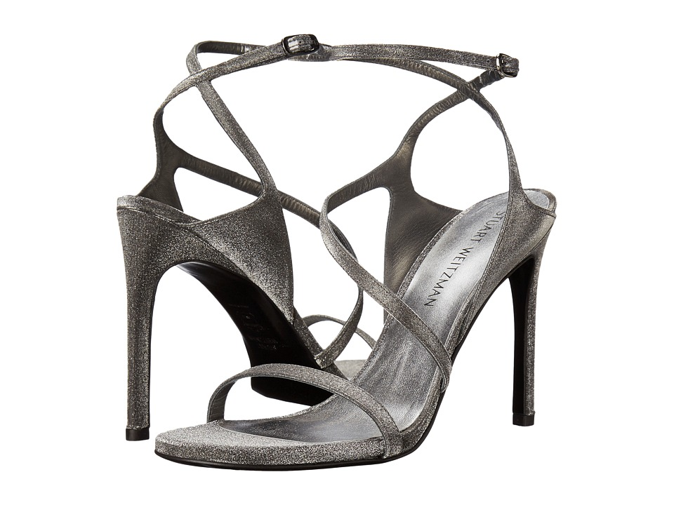 Stuart Weitzman Bridal & Evening Collection - Sultry (Gunmetal Glitterati) Women's Shoes
