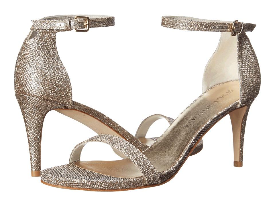 Stuart Weitzman - Nunaked (Platinum Noir) High Heels
