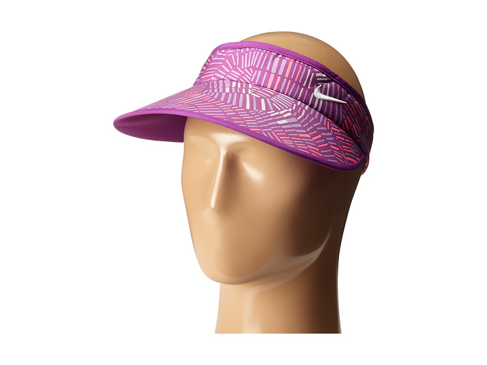 Nike Golf - Print Big Bill Visor 2.0 (Cosmic Purple/Pure Platinum/Urban Lilac/White) Casual Visor
