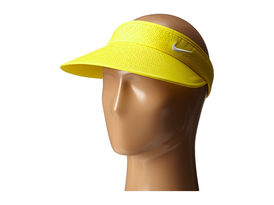 Nike Golf - Big Bill Visor 2.0 (Optic Yellow/White/White) Casual Visor