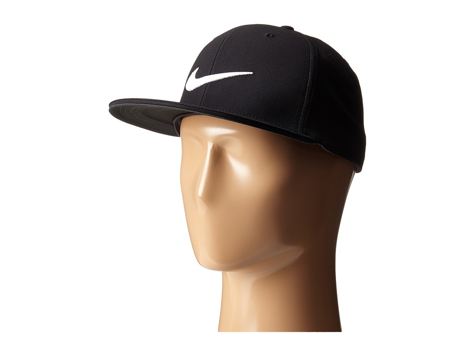 Nike Golf - True Tour Cap (Black/White/White) Caps