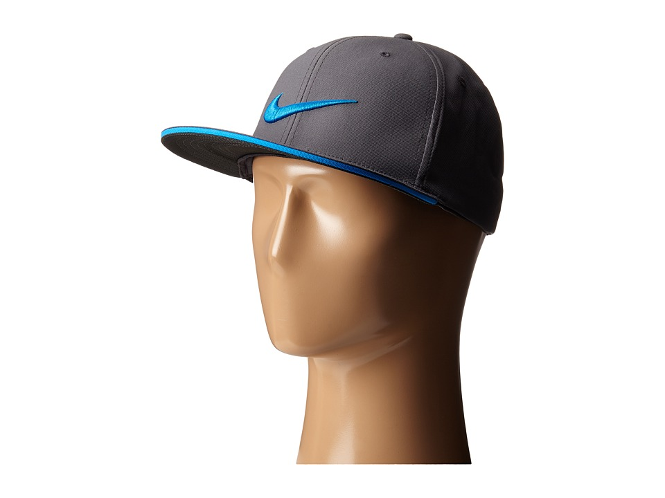 Nike Golf - True Tour Cap (Dark Grey/Photo Blue/Photo Blue) Caps