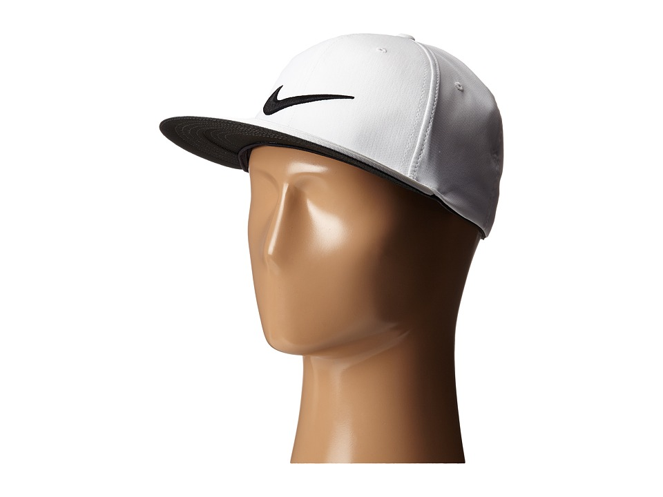 Nike Golf - True Tour Cap (White/Black/Black) Caps