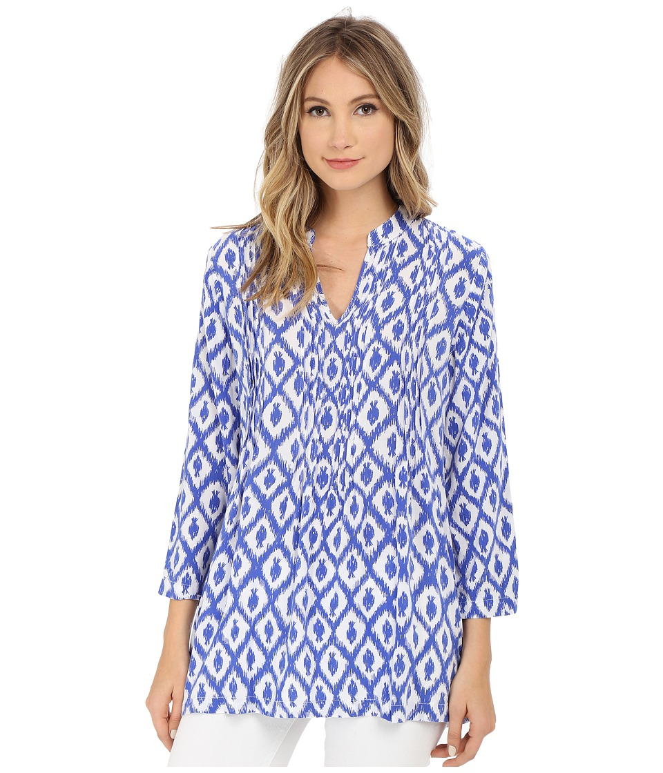 Lilly Pulitzer - Sarasota Tunic (Iris Blue Little Fish Medium) Women's Blouse