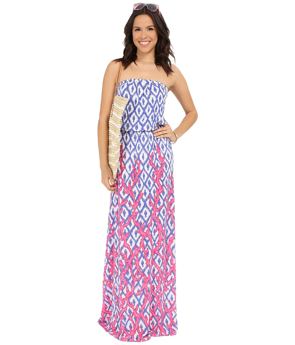 Lilly Pulitzer - Marlisa Maxi Dress (Iris Blue Deep Dive Little) Women's Dress