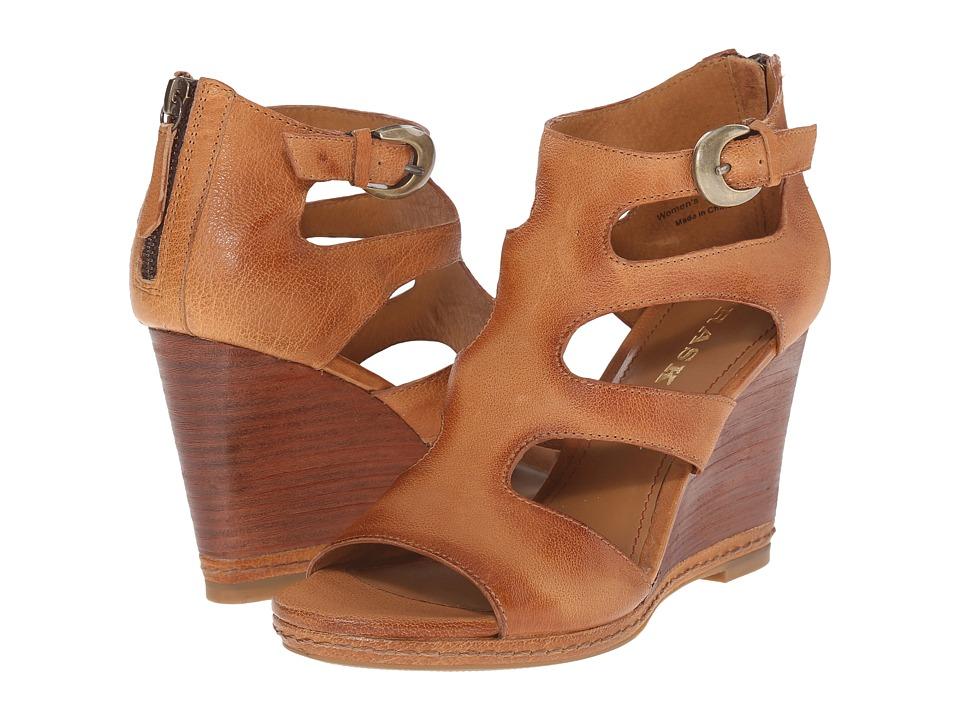 Trask Hara (Tan Italian Soft Buffalo Calfskin) High Heels