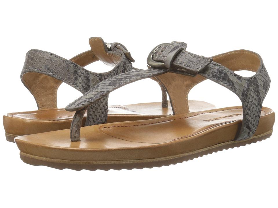 Trask - Hollyn (Charcoal Italian Snake Print Calfskin) Women's Sandals