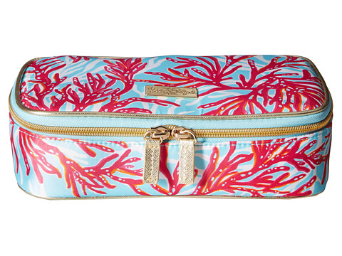 Lilly Pulitzer - Cruising Cosmetic Case (Breakwater Blue Underwater Escape) Cosmetic Case