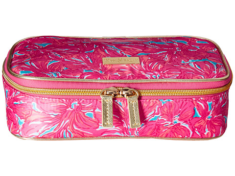 Lilly Pulitzer - Cruising Cosmetic Case (Sea Blue Flirty) Cosmetic Case
