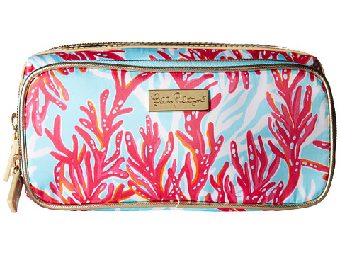 Lilly Pulitzer - Make It Cosmetic Case (Breakwater Blue Underwater Escape) Cosmetic Case