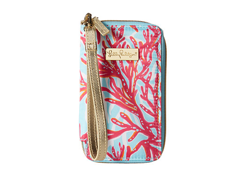 Lilly Pulitzer - Tiki Palm iPhone 6 Case (Breakwater Blue Underwater Escape) Clutch Handbags