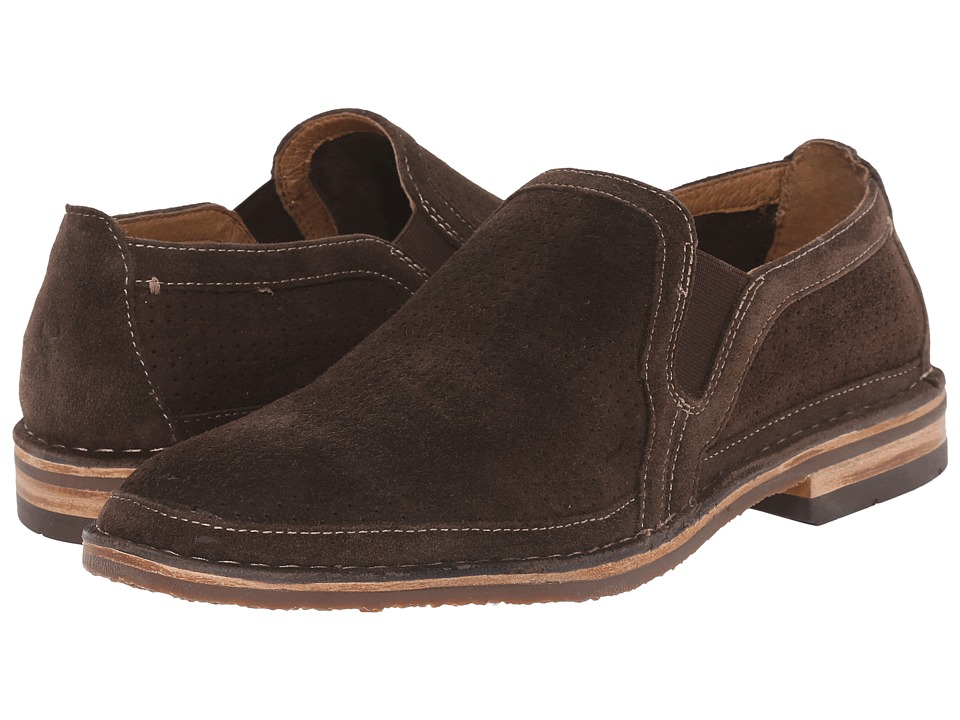 Trask Blaine Perf (Gray African Kudu Suede) Men