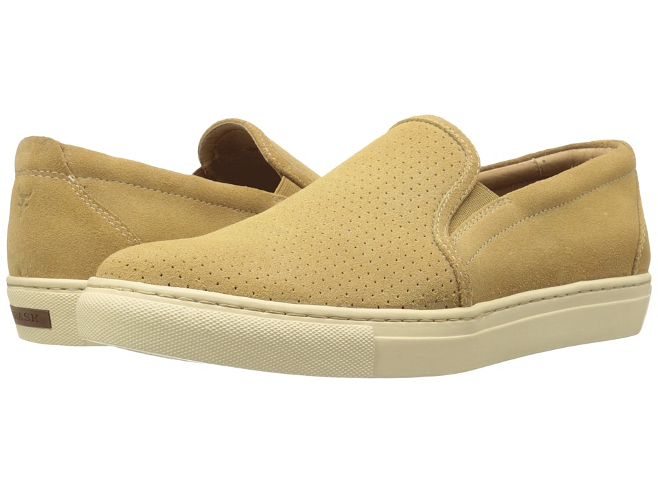 Trask - Belmont Perf (Camel Water Resistant Suede) Men's Shoes