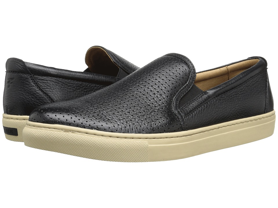 Trask - Belmont Perf (Black Norwegian Elk) Men's Shoes