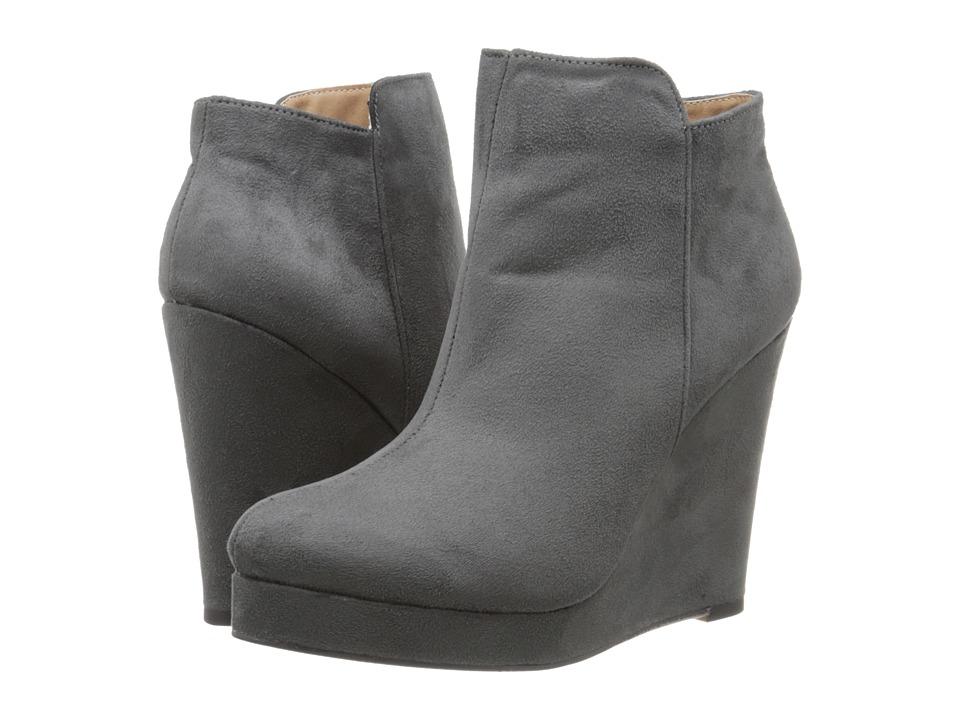Michael Antonio - Milena (Medium Grey) Women's Dress Zip Boots