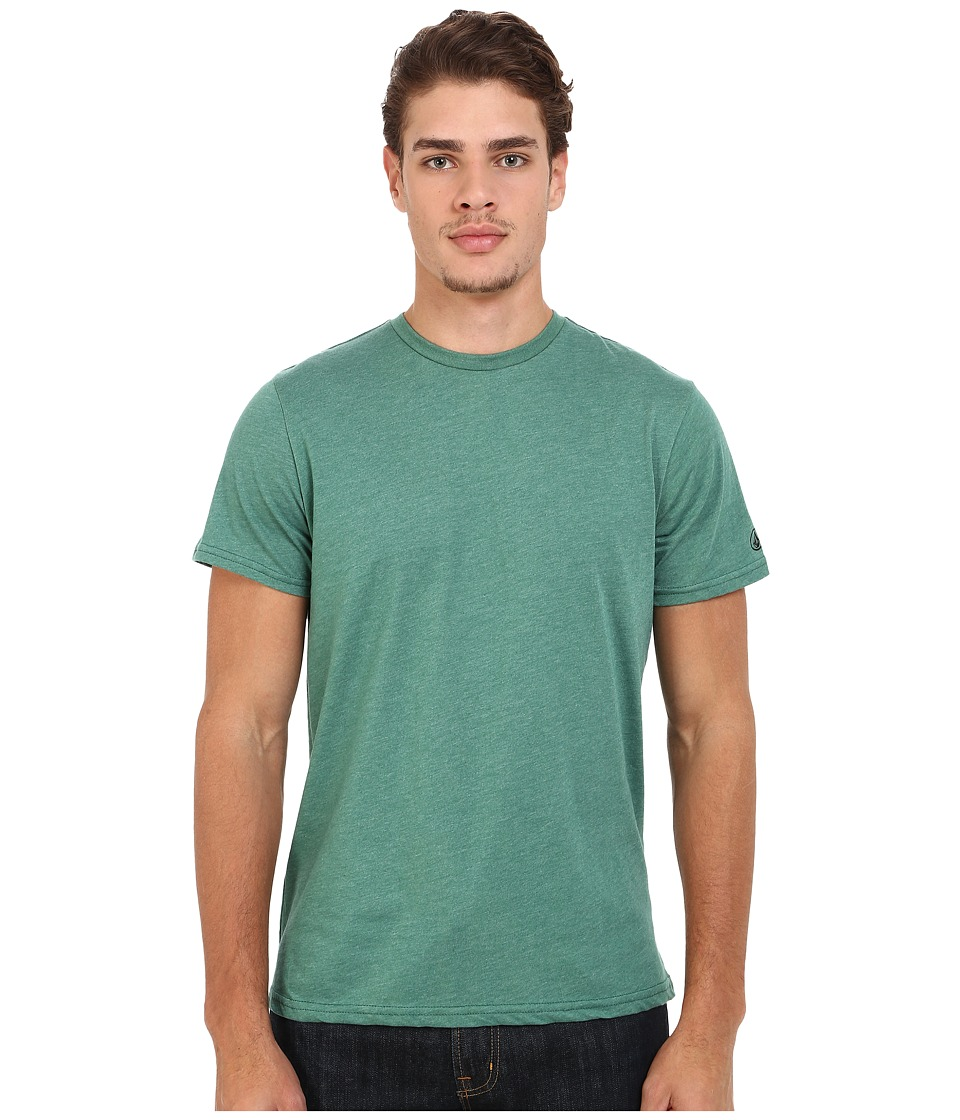 Volcom - Heather S/S Tee (Bottle Green Heather) Men's T Shirt
