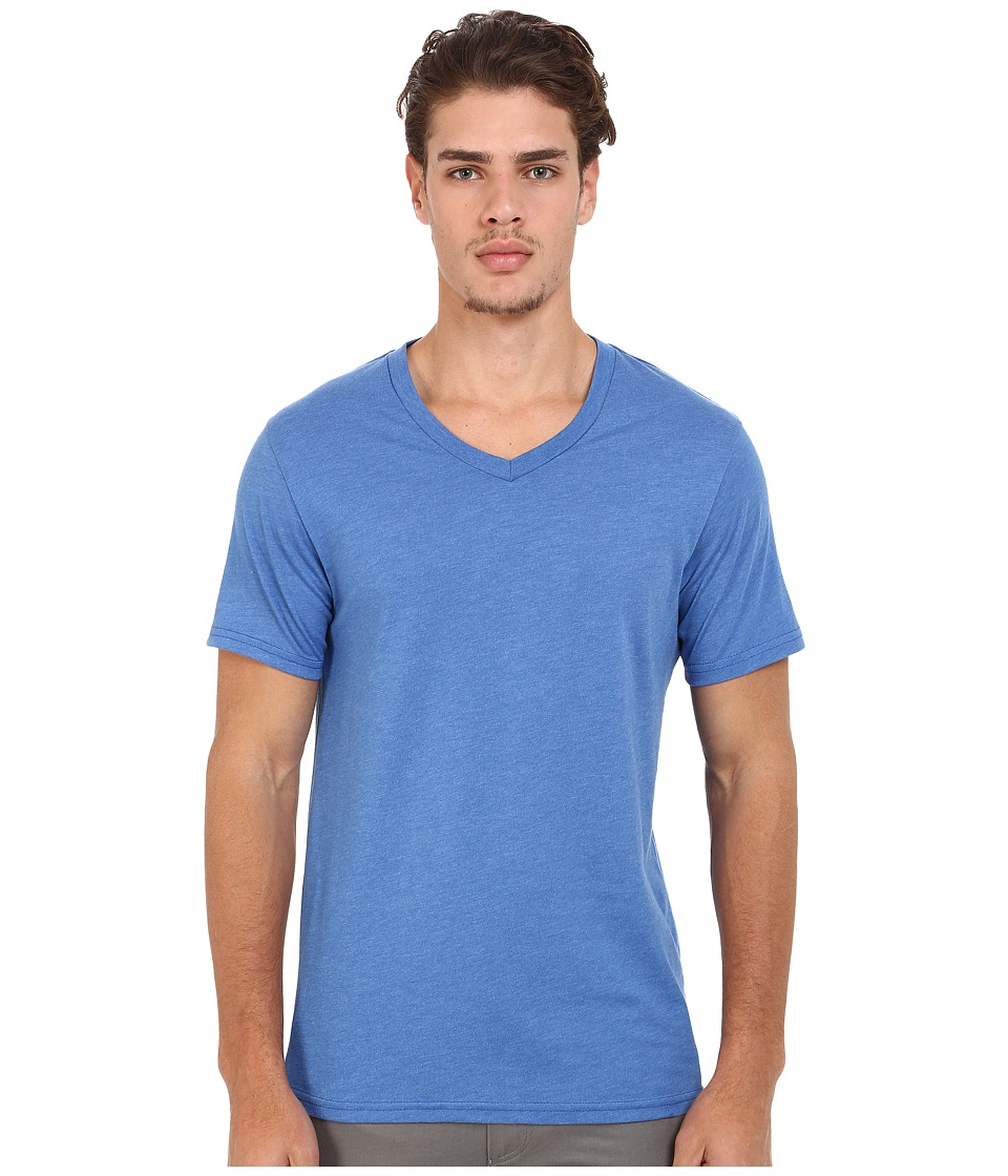 Volcom - Heather V-Neck Tee (Estate Blue Heather) Men