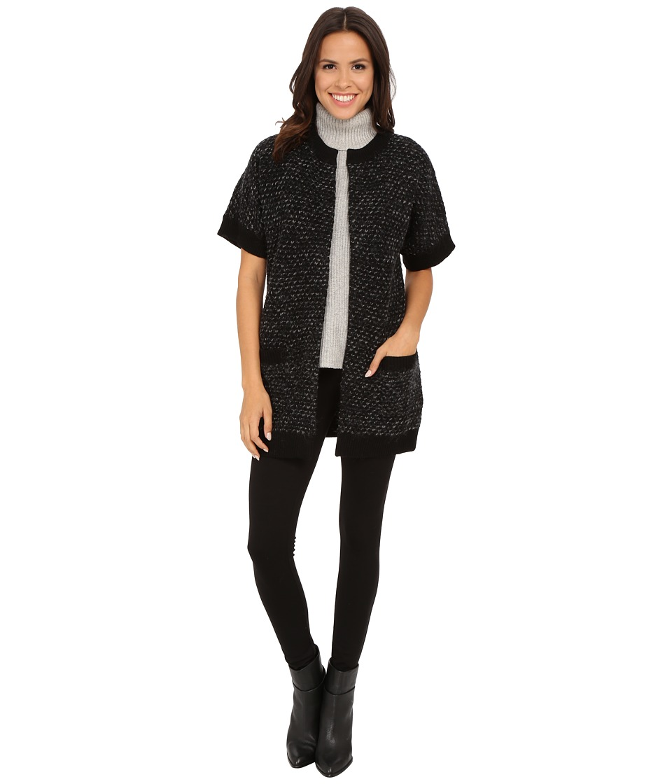 Pendleton - Cordova Cardigan (Black/Grey Multi) Women's Sweater