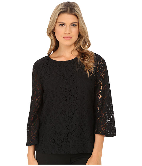 Pendleton - Lace Top (Black Lace) Women's Blouse