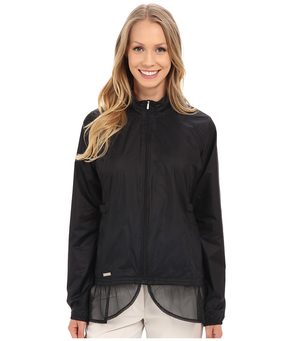 adidas Golf - Advance Wind Jacket (Black) Women's Coat