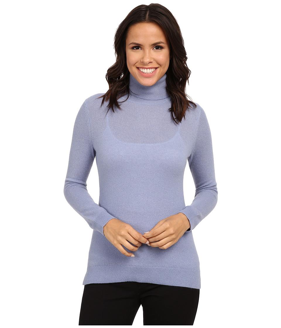 Pendleton - Turtleneck (Faded Indigo) Women's Long Sleeve Pullover