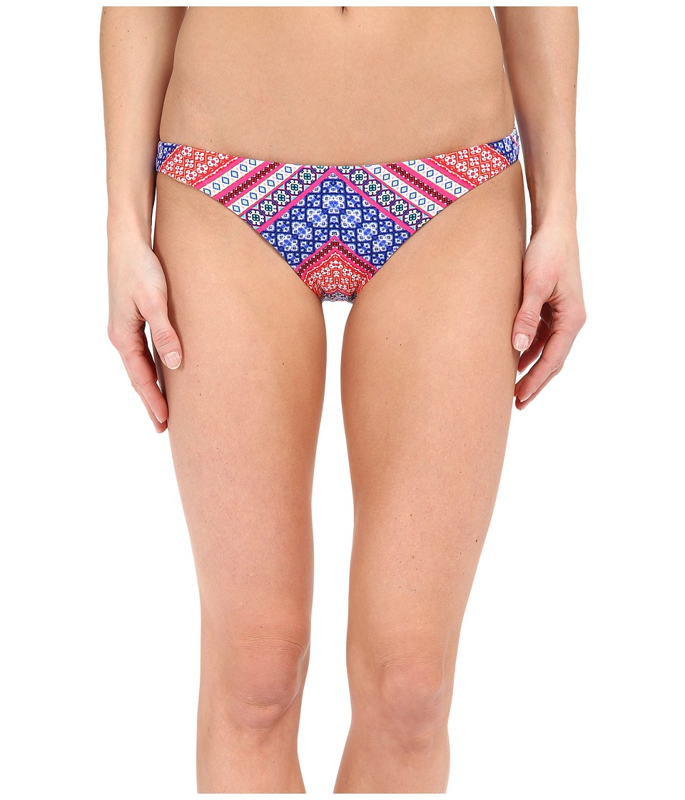 Shoshanna Chevron Tapestry Classic Bottoms (Fuchsia Multi) Women