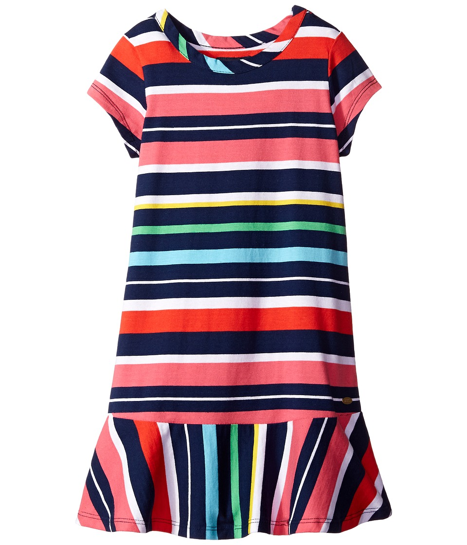 Tommy Hilfiger Kids - Y/D Jersey Multi Stripe Dress (Little Kid) (Flag Blue) Girl's Dress