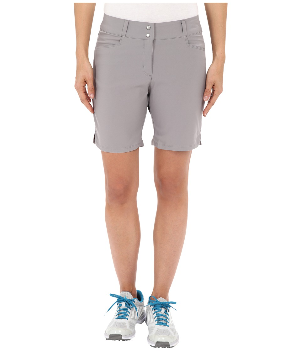 adidas Golf - Essential Shorts 7 (Charcoal Solid Grey) Women's Shorts