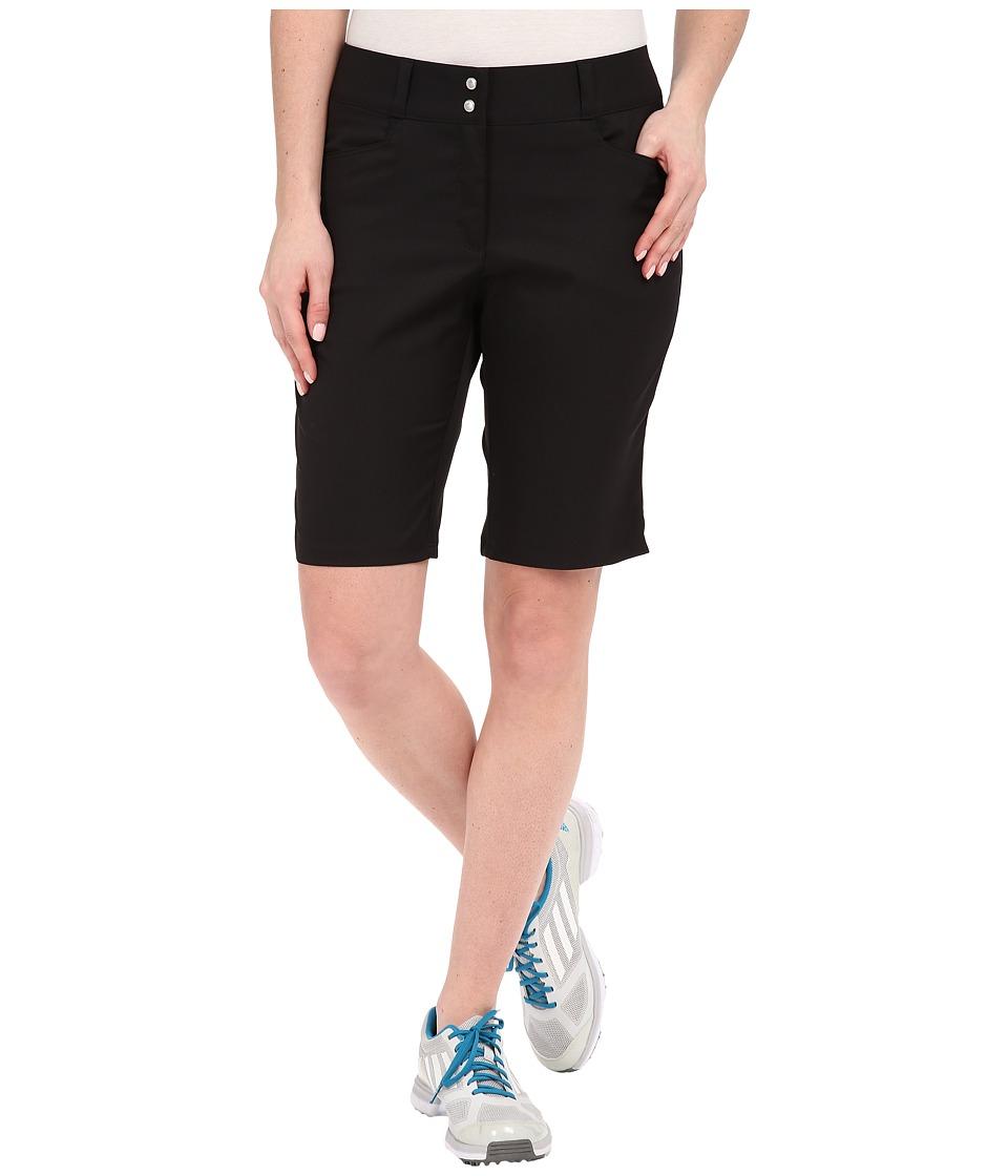 adidas Golf - Essentials Lightweight Bermuda Shorts (Black) Women's Shorts