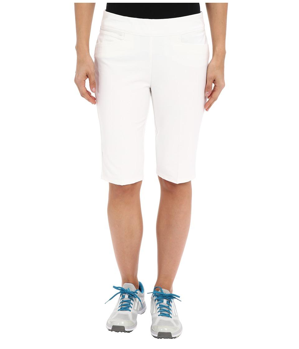 adidas Golf - adiStar Bermuda Shorts (White) Women's Shorts plus size,  plus size fashion plus size appare