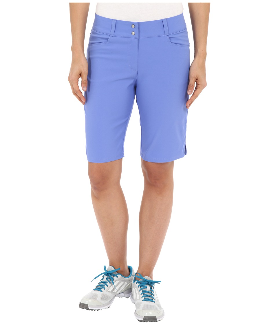 adidas Golf - Essentials Lightweight Bermuda Shorts (Baja Blue) Women's Shorts plus size,  plus size fashion plus size appare