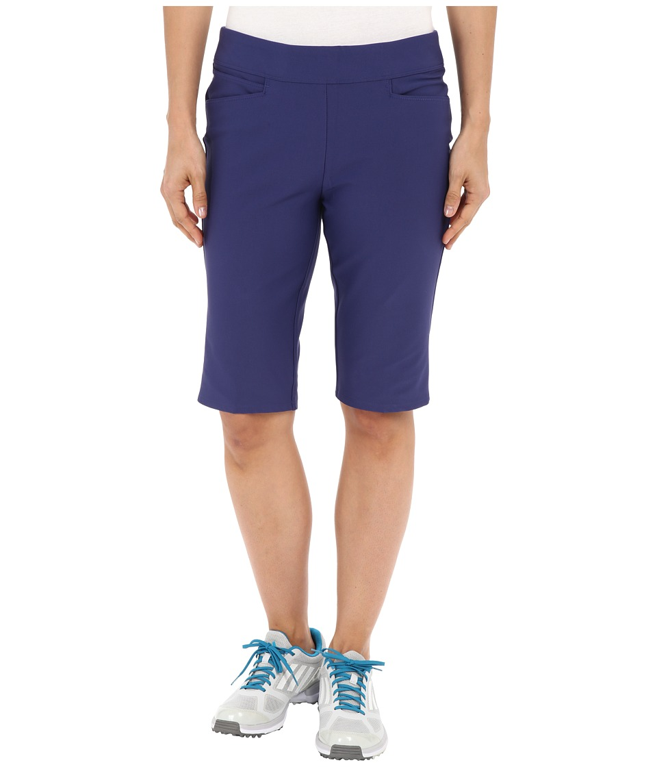 adidas Golf - adiStar Bermuda Shorts (Deep Blue) Women's Shorts plus size,  plus size fashion plus size appare