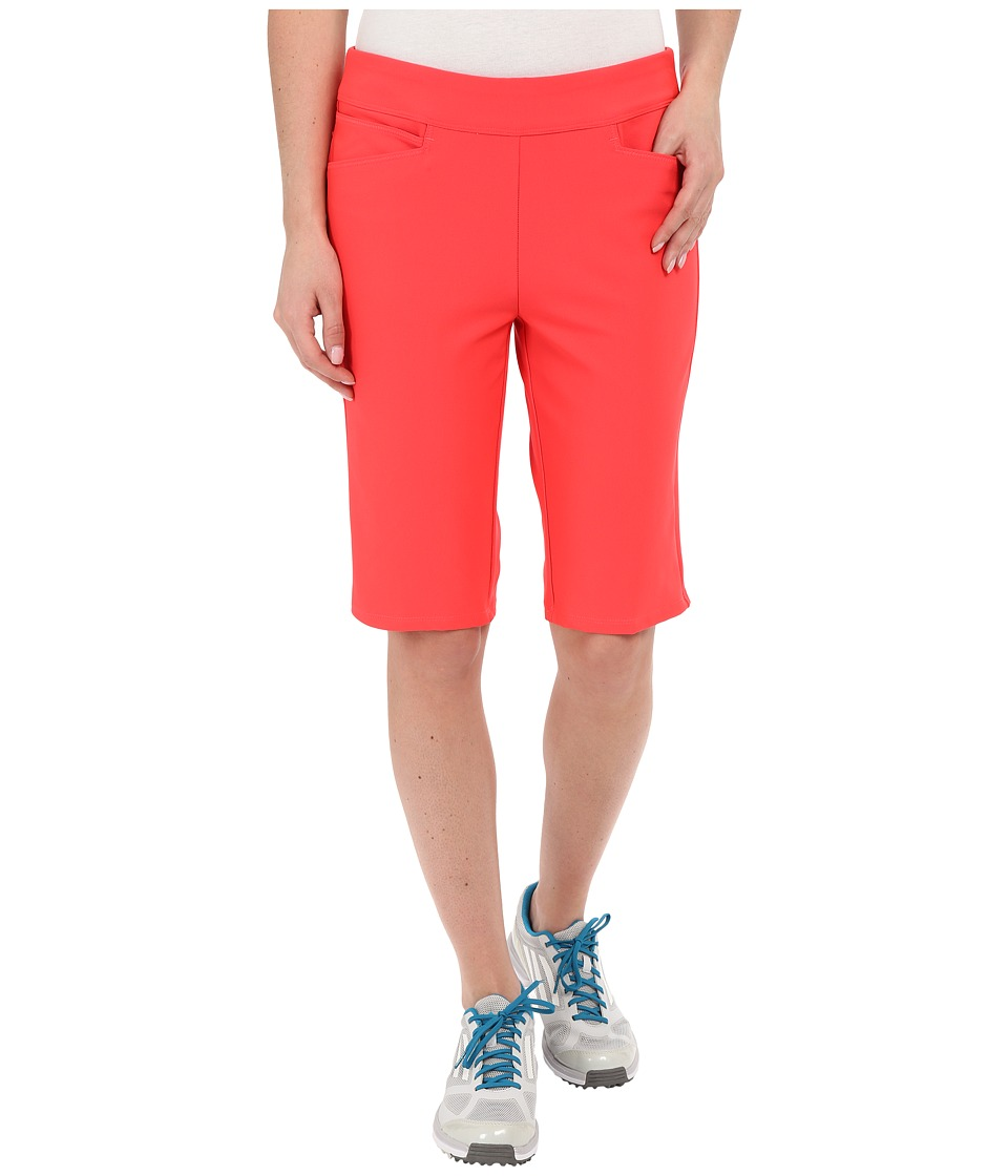 adidas Golf - adiStar Bermuda Shorts (Shock Red) Women's Shorts plus size,  plus size fashion plus size appare