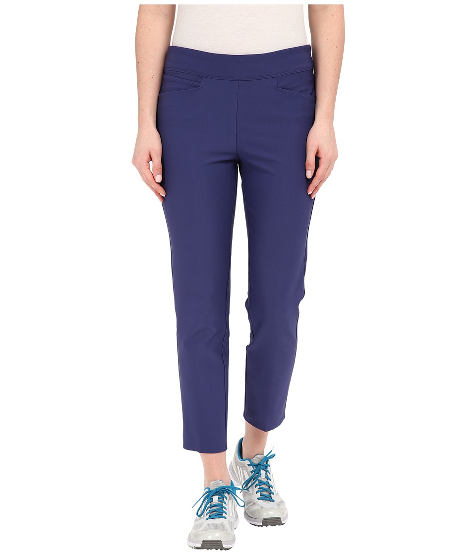 adidas Golf - Essentials Pull On Ankle Length Pants (Deep Blue) Women's Casual Pants