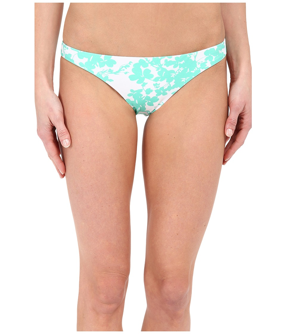 Shoshanna - Beach Vine Classic Bottoms (Mint/White) Women's Swimwear