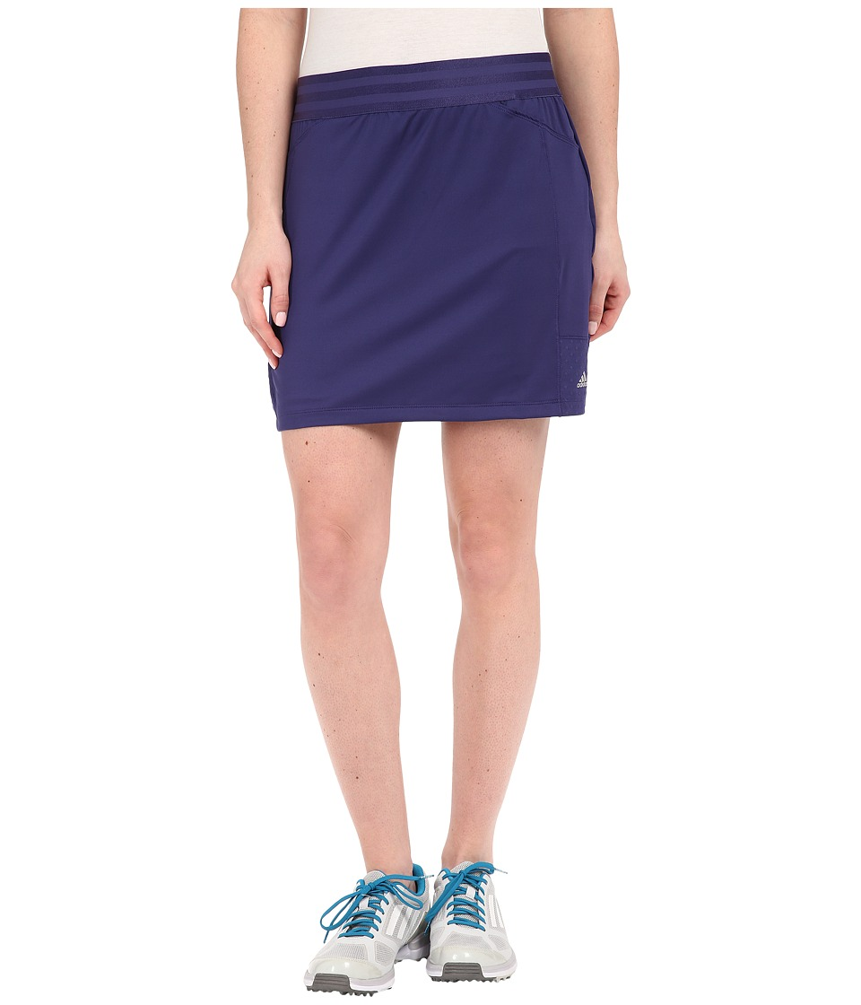 adidas Golf - adiStar Rangewear Skort (Deep Blue) Women's Skort