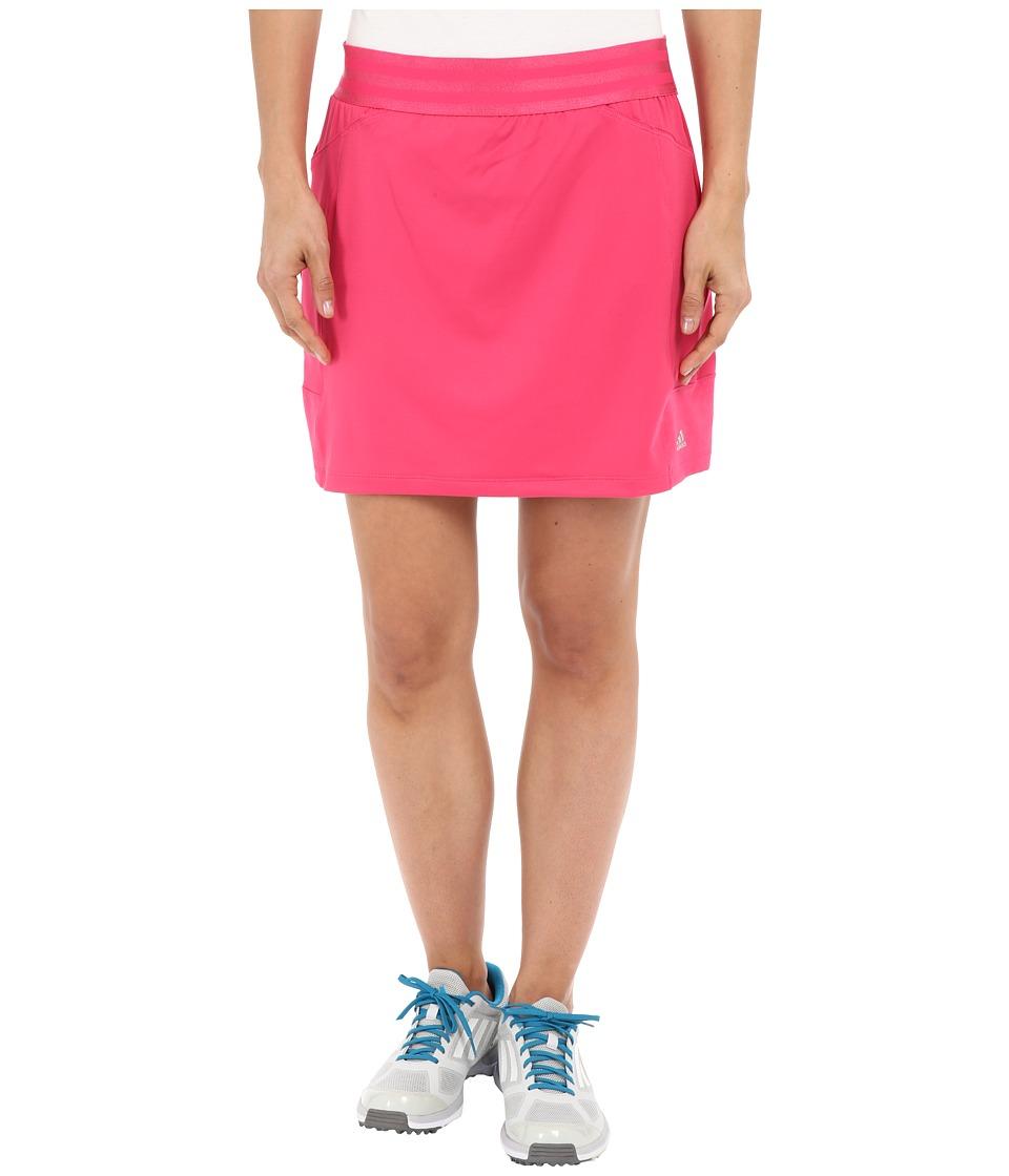 adidas Golf - adiStar Rangewear Skort (Raspberry Rose) Women's Skort
