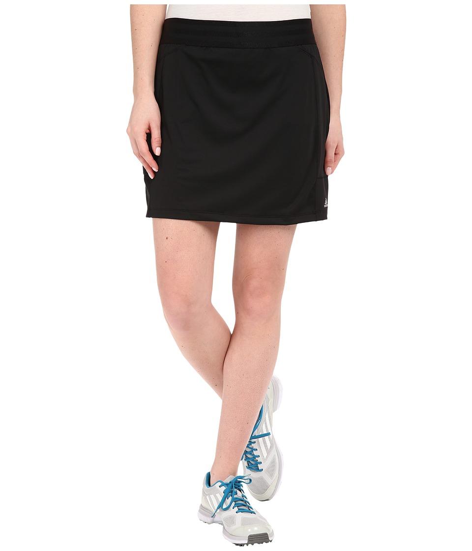 adidas Golf - adiStar Rangewear Skort (Black) Women's Skort