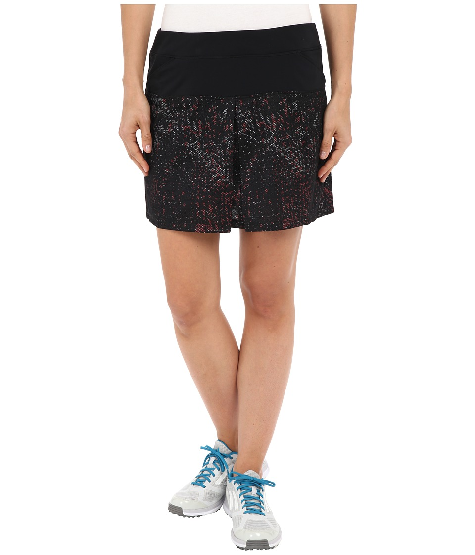adidas Golf - Tour Mixed Print Pull On Skort (Black) Women's Skort