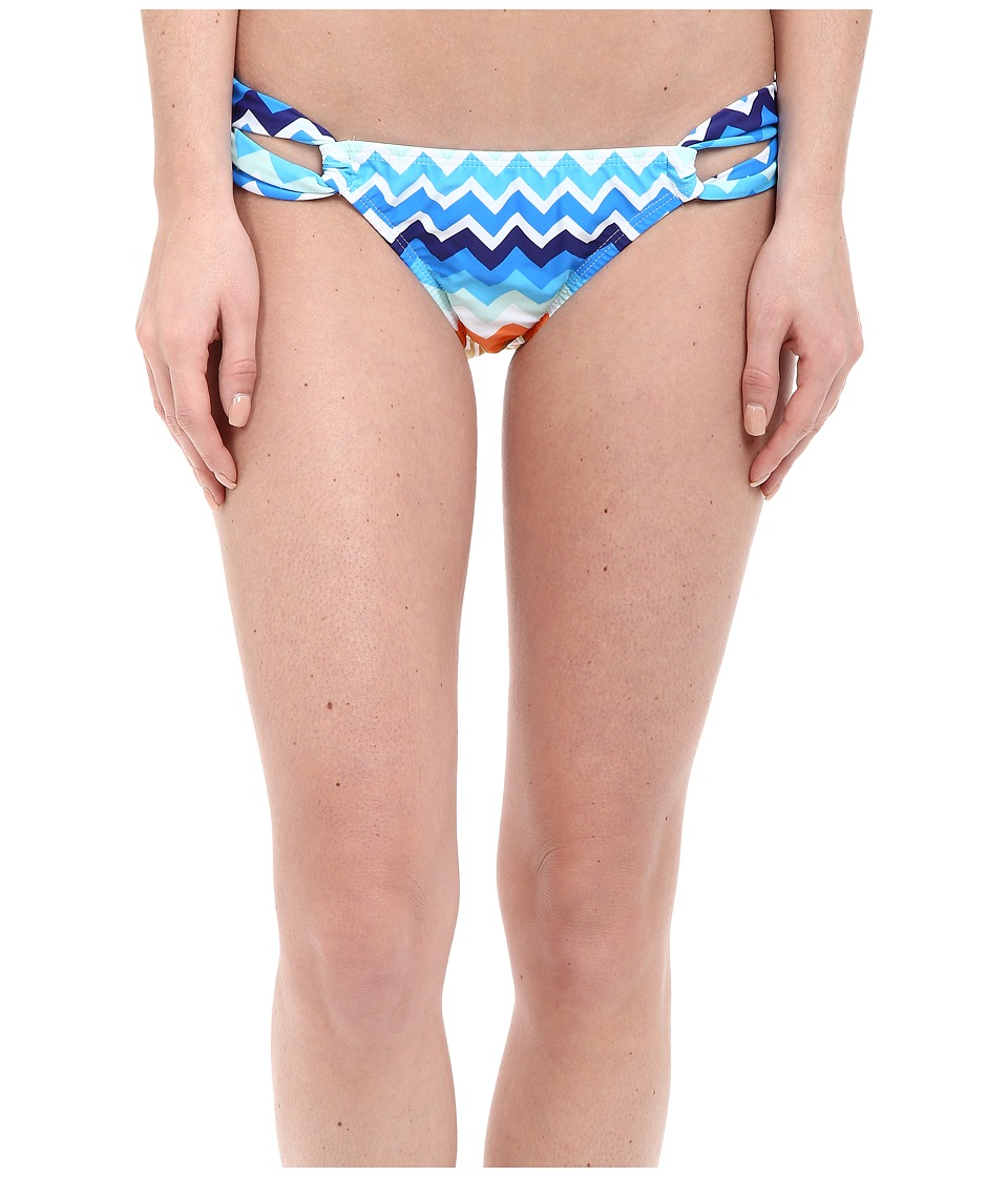 Shoshanna Laguna Loop Bottoms (Blue Multi) Women
