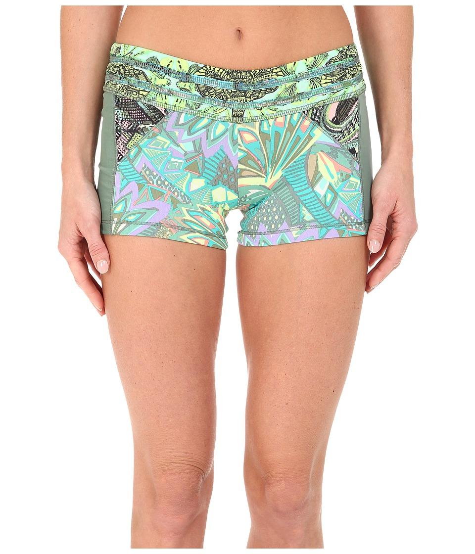 Maaji Sage Green Oasis Shorts (Multi) Women