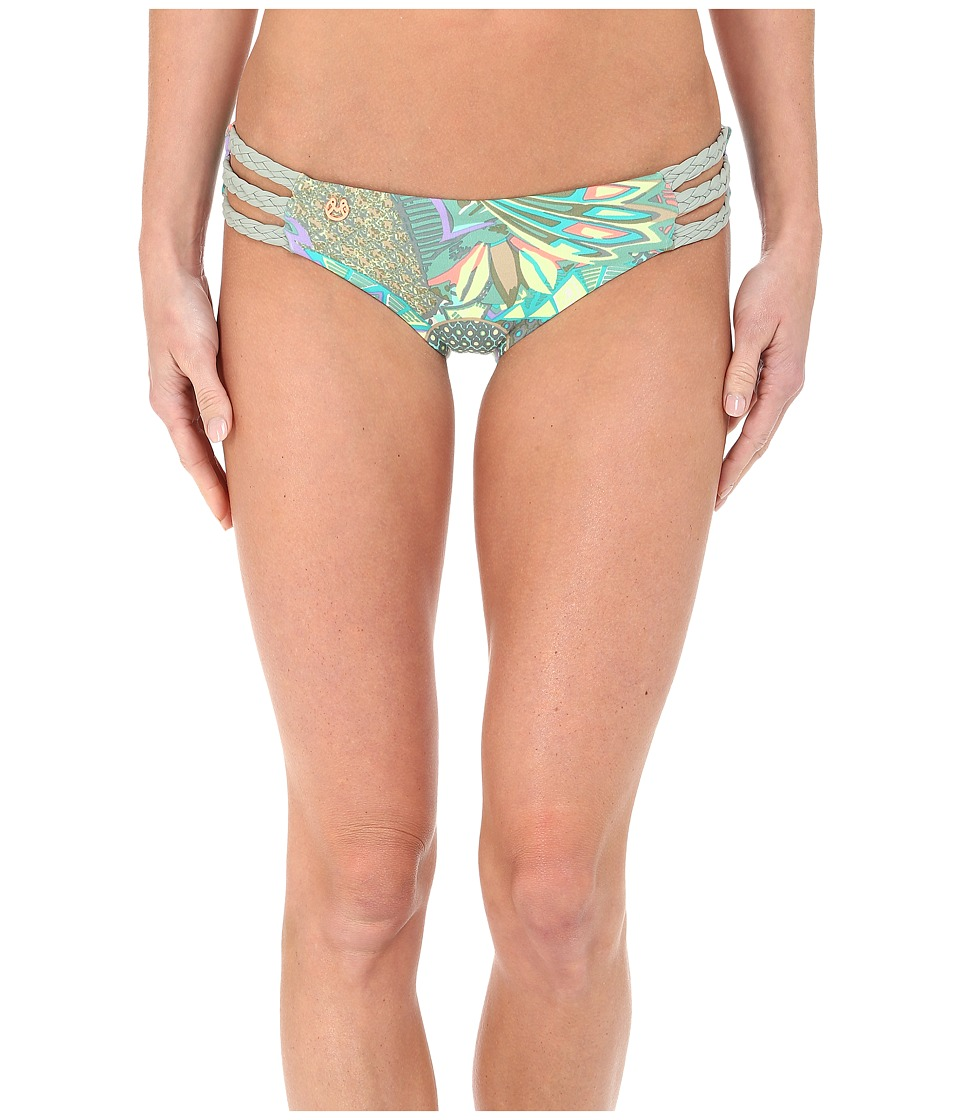 Maaji - Lace Valley Signature Cut Bottom (Multi) Women's Swimwear
