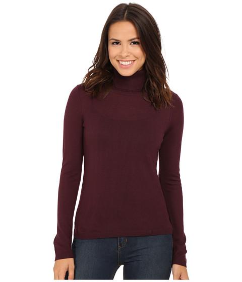 Pendleton - Classic Turtleneck Sweater (Zinfandel) Women's Long Sleeve Pullover