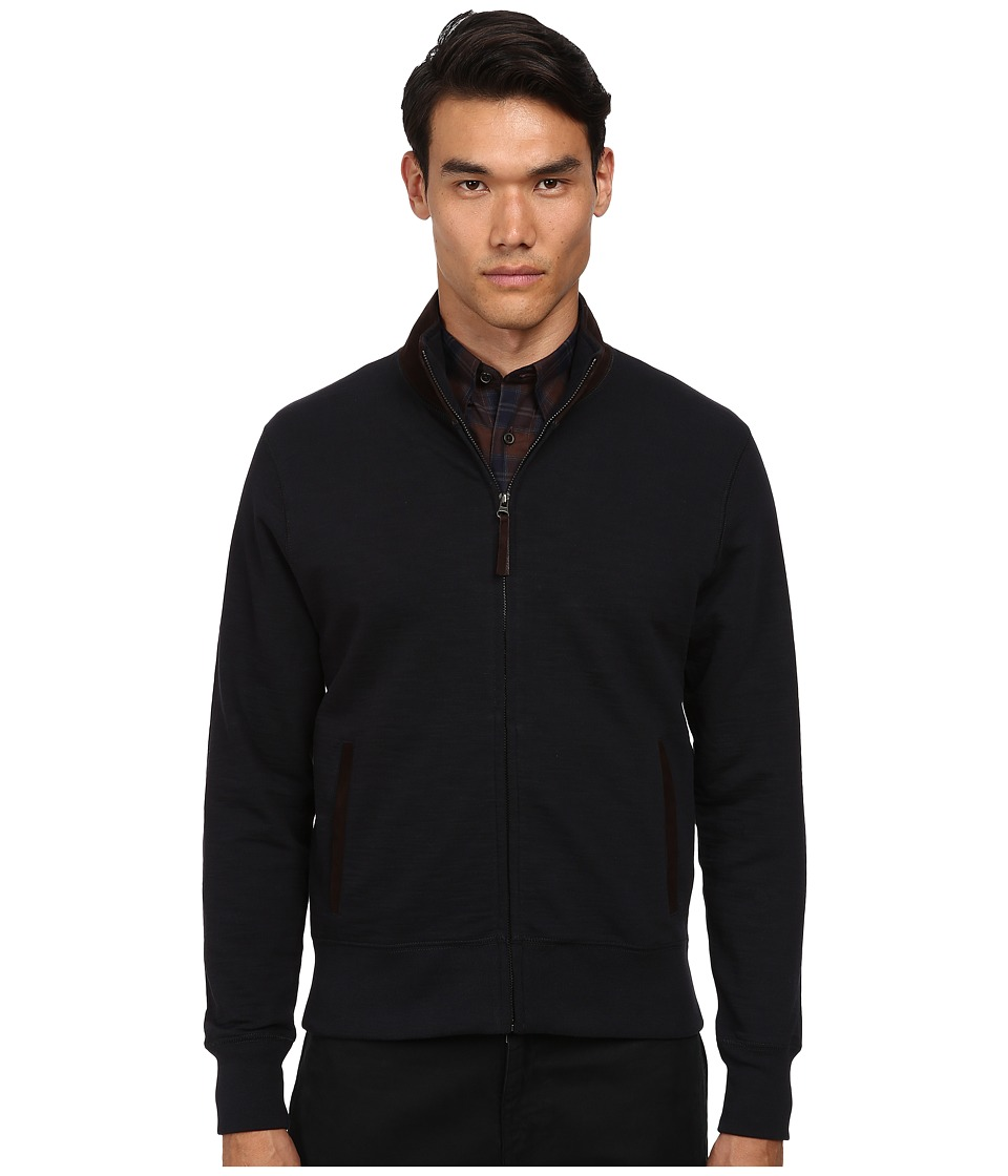Billy Reid - Track Jacket (Navy) Men's Coat