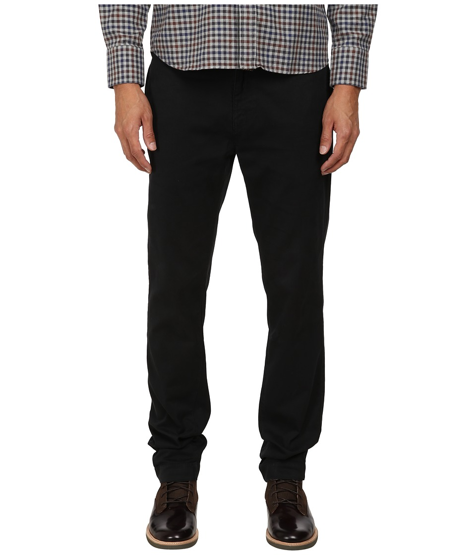 Billy Reid - Leonard Chino Corduroy (Black) Men's Casual Pants