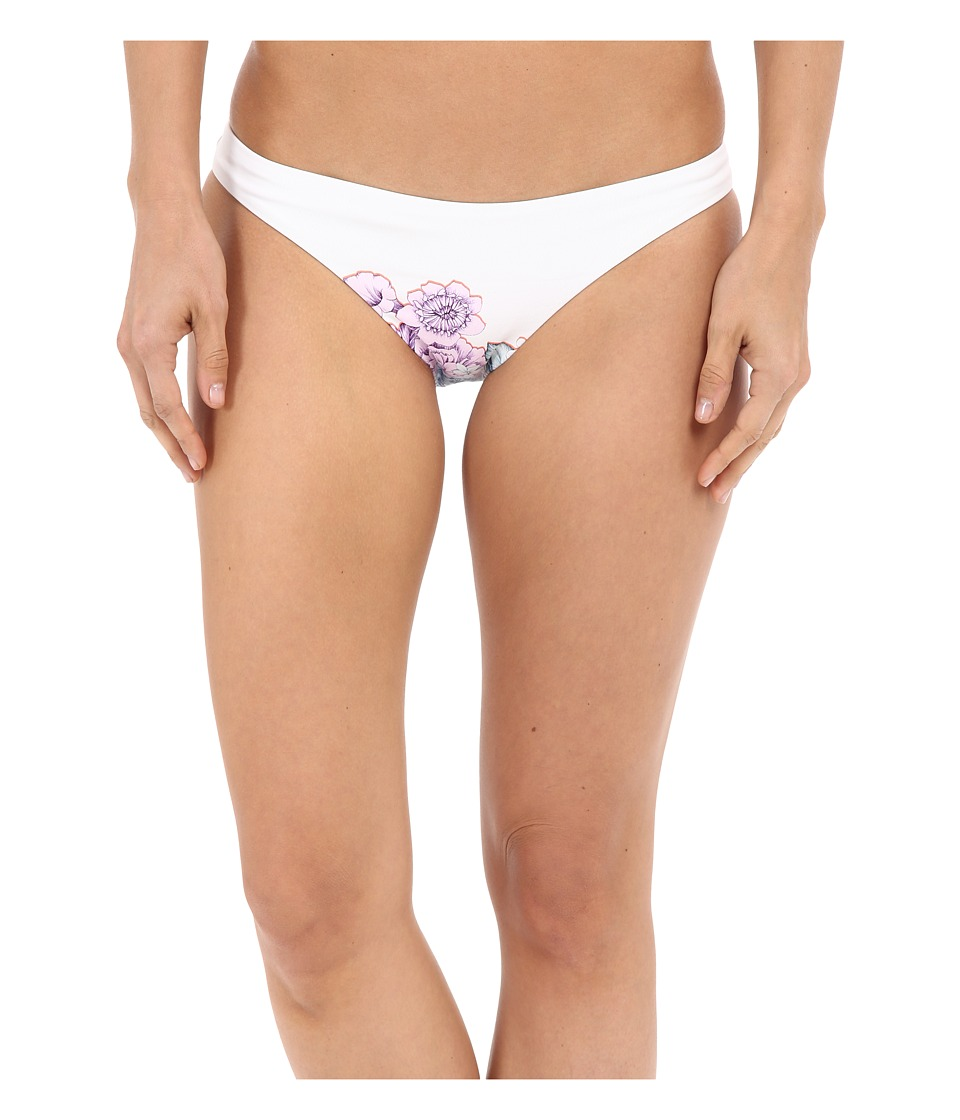Shoshanna Summer Garden Classic Bottoms (White Multi) Women