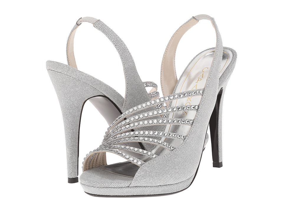 Caparros Addison (Silver Glimmer) High Heels