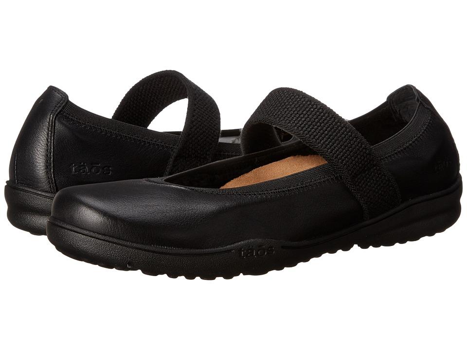 Taos Footwear Bandana 2 (Black Leather) Women