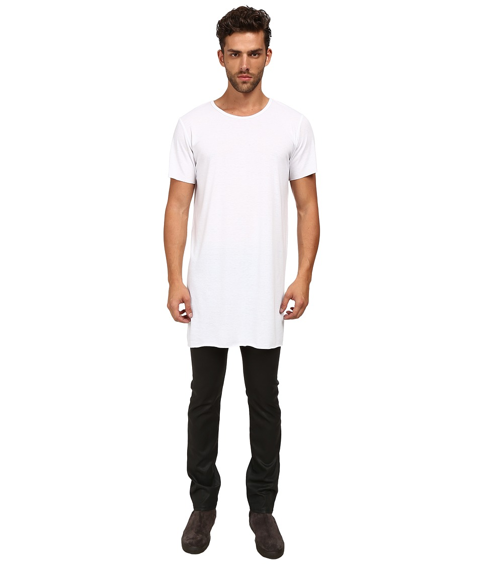 MISANTHROPE - Basic Tee (White) Men's Clothing